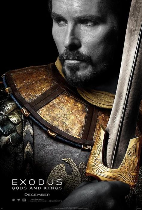 Moses, Christian Bale, Exodus Gods and Kings
