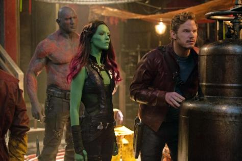 Guardians of the Galaxy, Chris Pratt, Zoe Saldana, Star Lord, Gamora