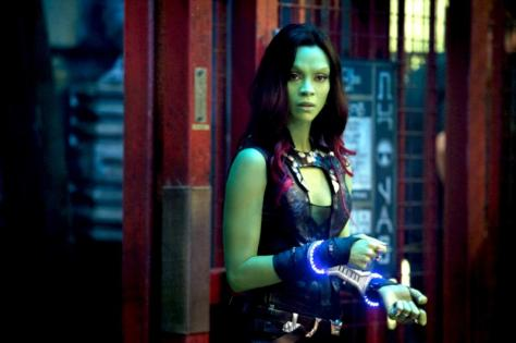 Zoe Saldana, Guardians of the Galaxy, Gamora