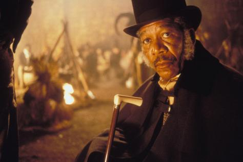 Amistad, Morgan Freeman