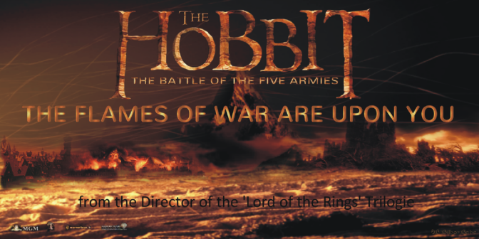 Listen to Billy Boyd's End Title to The Hobbit: The Battle of the Five Armies