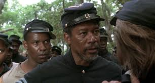 Glory, Morgan Freeman