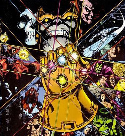 Infinity Gauntlet, Thanos