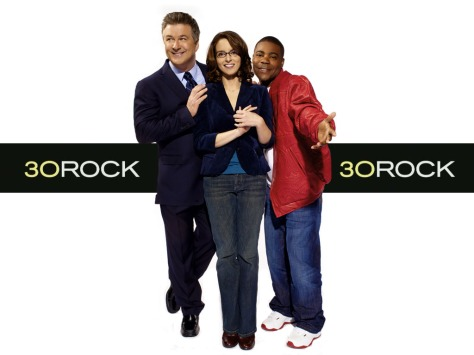 30 Rock, Tracy Morgan, Tina Fey, Alec Baldwin