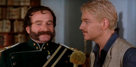 Robin Williams, Kenneth Brannagh, Hamlet