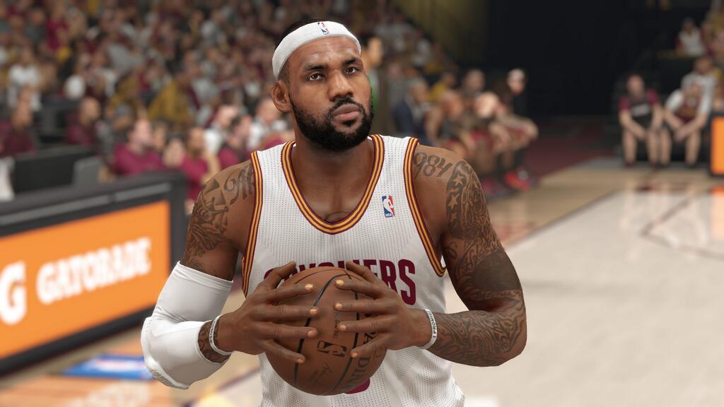 LeBron James, NBA 2k15