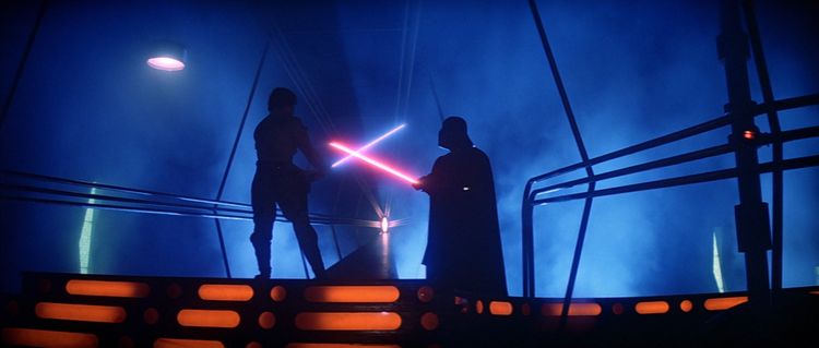The Empire Strikes Back, Darth Vader, Luke Skywalker