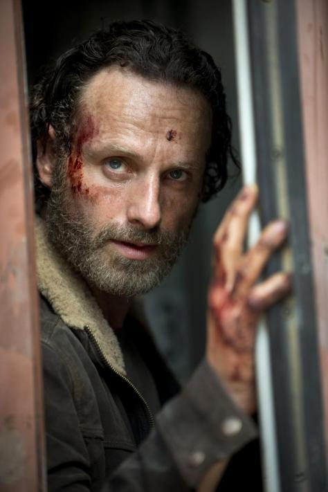 Andrew Lincoln, Rick Grimes, The Walking Dead, The Waking Dead Season 5