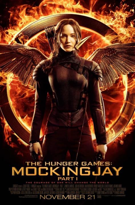 The Hunger Games, The Hunger Games Mockingjay Pt. 1, Katniss Everdeen, Jennifer Lawrence