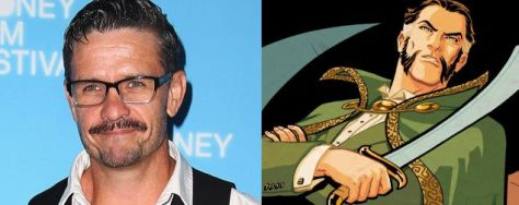 Ra's al Ghul, Arrow, Matt Nable