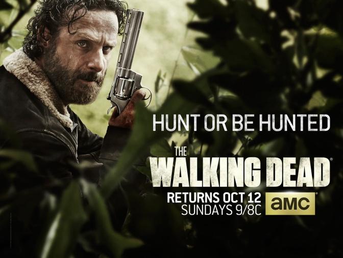 Walking Dead Season 5, Rick Grimes, Andrew Lincoln