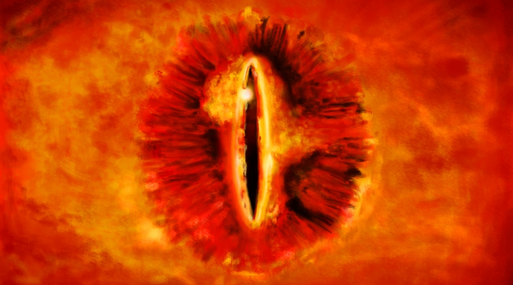 Lord of the RIngs, The Hobbit, Sauron, Eye of Sauron