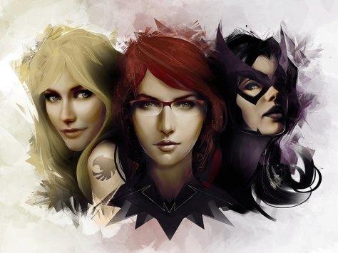Birds of Prey, Huntress, Oracle, Black Canary