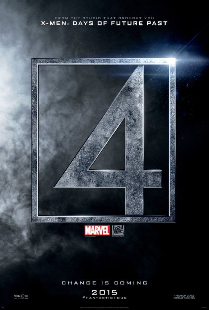 Trailer Time: The Fantastic Four Trailer #1 (2015)