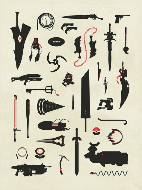 Video Game Weapons