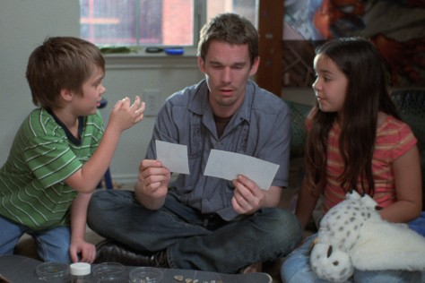 Boyhood, Ellar Coltrane, Samantha Linklater, Ethan Hawke