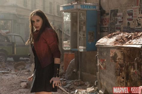 Elizabeth Olsen, Avengers: Age of Ultron, The Scarlet Witch