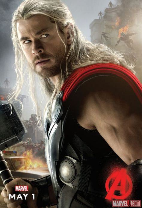 Thor, Chris Hemsworth, Avengers Age of Ultron