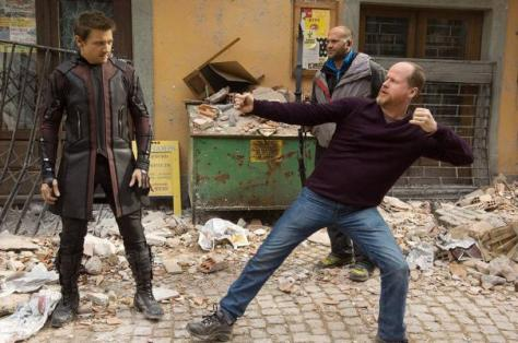 Joss Whedon, Avengers: Age of Ultron, Hawkeye, Jeremy Renner