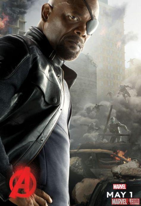 Samuel L. Jackson, Nick Fury, Avengers Age of Ultron