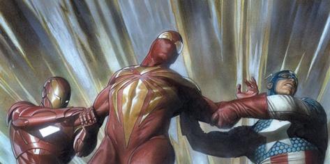 Spider-Man, Iron Man, Captain America, Civil War