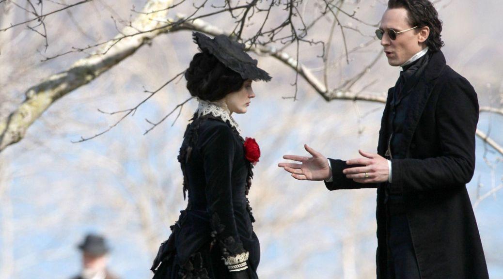 Tom Hiddleston, Eva Green, Crimson Peak