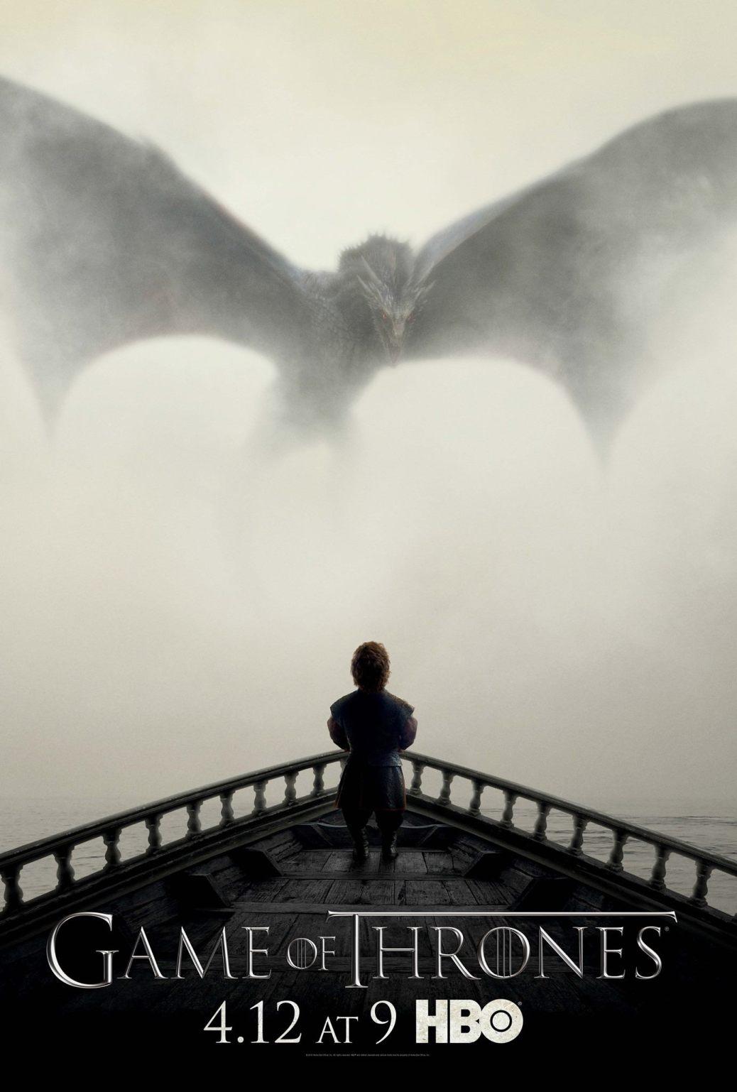 Drogon, Arya Stark, Game of Thrones, Game of Thrones Season 5