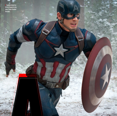 Chris Evans, Captain America, Avengers: Age of Ultron