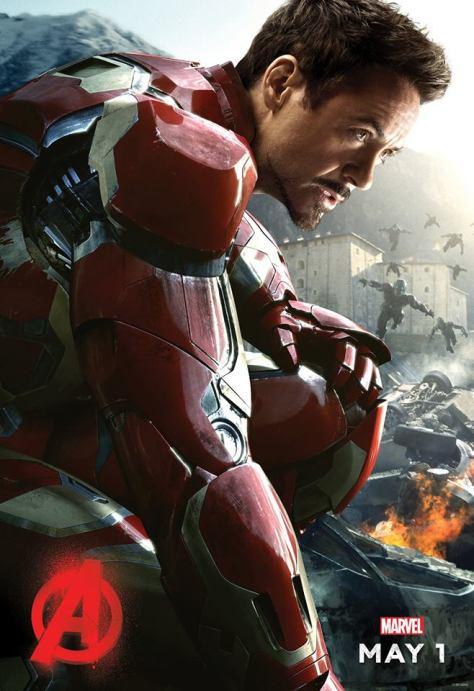 Iron Man, Tony Stark, Robert Downey Jr., Avengers Age of Ultron