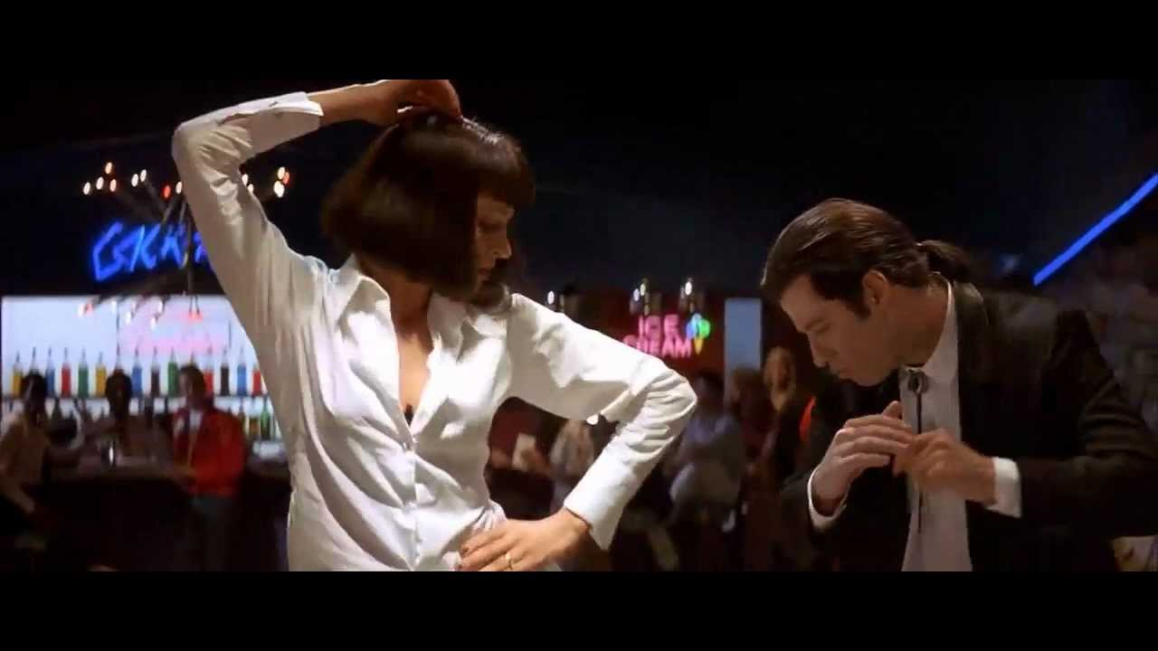 top scenes from pulp fiction killing time uma thurman john travolta pulp fiction