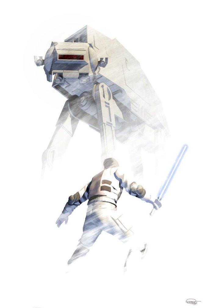Three Fantastic Star Wars Pieces from Daniel Murray