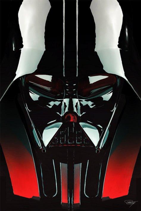 Darth Vader, Star Wars, Hoth