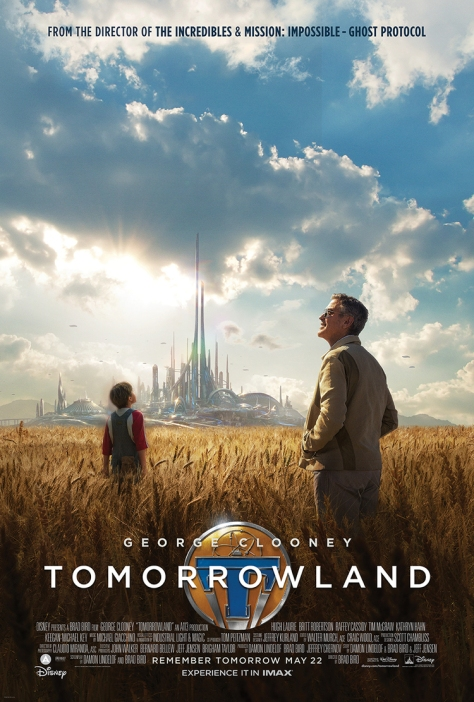 George Clooney, Brad Bird, Tomorrowland, Disney