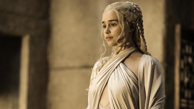 Emilia Clarke, Danerys Targaryen, Game of Thrones