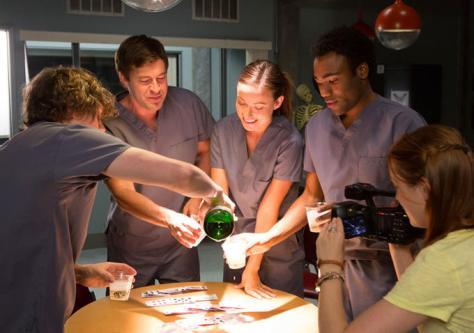 The Lazarus Effect, Evan Peters, Donald Glover, Mark Duplass, Olivia Wilde