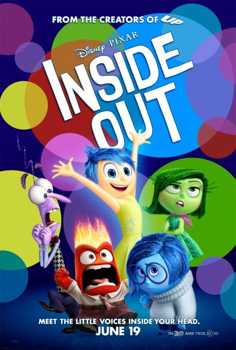 Pixar, Disney, Inside Out, Amy Poehler