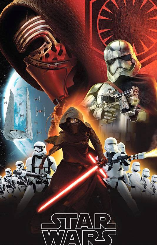 Fantastic Star Wars Episode VII Promo Art Featuring Kylo Ren and the New Stormtroopers