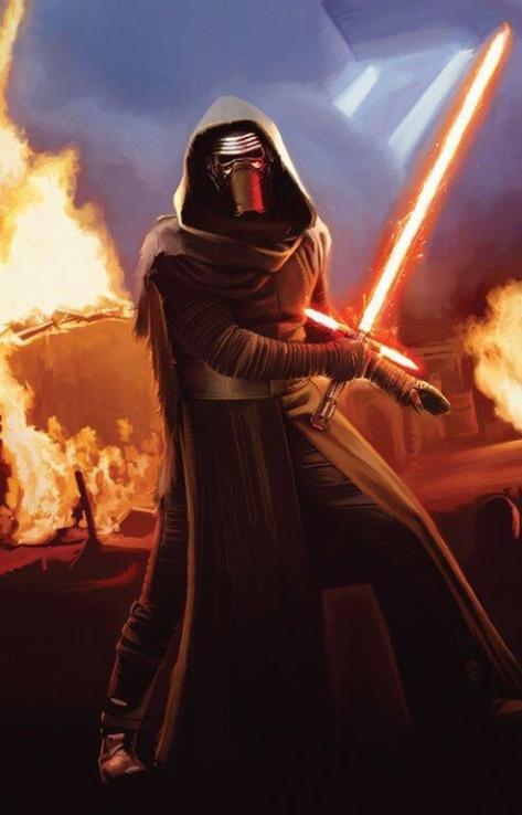 Star Wars, Star Wars Episode VII, Star Wars Episode VII: The Force Awakens, Star Wars Episode VII Art, Kylo Ren, Episode VII Villain, Stormtroopers