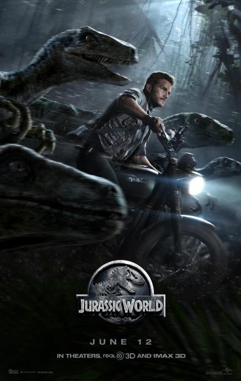 Jurassic World, Chris Pratt, Velociraptors