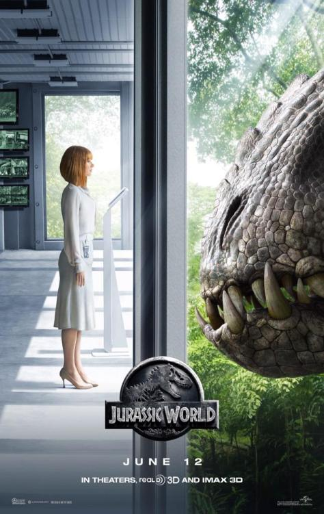 Jurassic World, Jessica Chastain, Indomitus Rex, Jurassic World