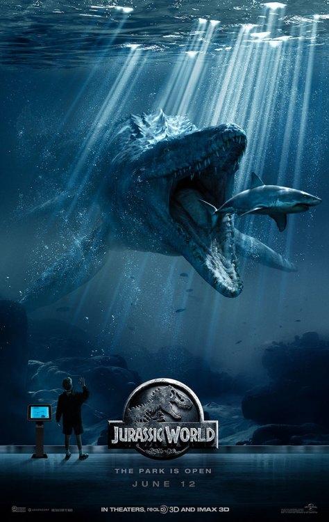 Jurassic World, Mossasaurus