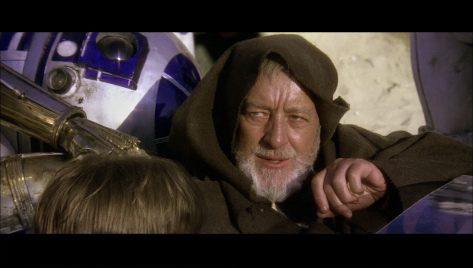 Star Wars, Obi-Wan Kenobi, Alec Guiness, Star Wars Episode IV A New Hope