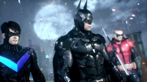 Batman, Robin, Nightwing, Batman Arkham Knight