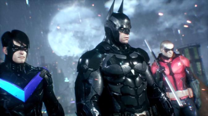 Batman, Robin, Nightwing, Batman Arkham Knight