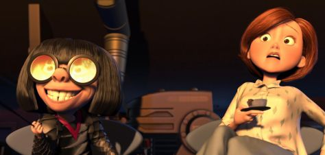 The Incredibles, Brad Bird, Holly Hunter, Edna Mode, Elastigirl