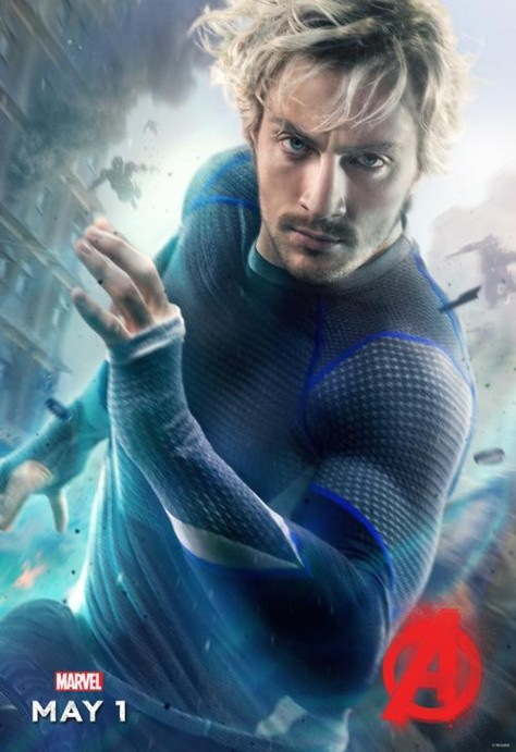 Quicksilver, Aaron Taylor Johnson, Avengers: Age of Ultron, Pietro Maximoff