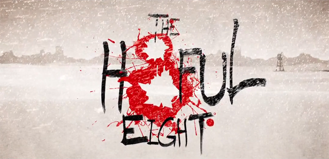 Trailer Time: Hateful Eight (2015) *Tarantino Returns to the West* PLUS Production Stills