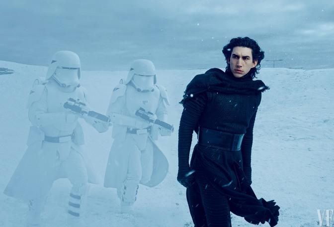 Star Wars Episode VII, Adam Driver, Snowtroopers