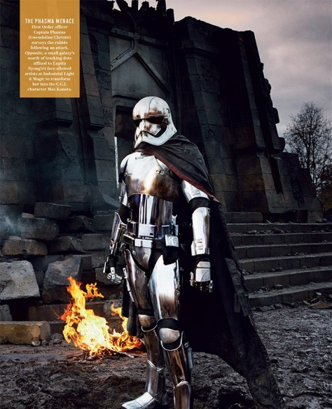 Gwendoline Christie, Star Wars Episode VII, Captain Phasma