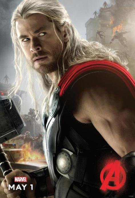Thor, Avengers: Age of Ultron, Chris Hemsworth